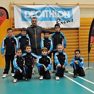 Club GLADIADOR en competición en RIVAS