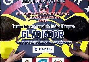 Torneo Internacional de Lucha Olimpica GLADIADOR - 2018
