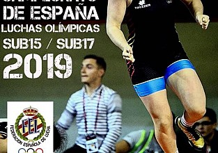 Campeonato de España de lucha libre olímpica 2019