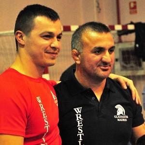 D. Alexe Stancu - entrenador nacional de Luchas Olimpicas del Club Gladiador