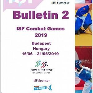 Juegos Mundiales de Combate  Escolares U15 en  Budapest- Hungría  2019