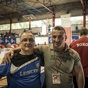 METO KODAKOV junto con el mejor entrenador de todas las épocas en BULGARIA, Simeon Shterev