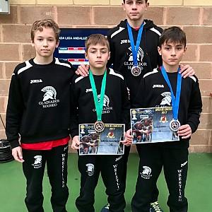 Tres medallas para el  Club  Gladiador  Madrid