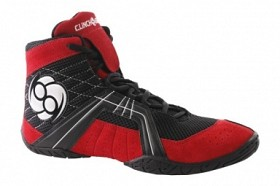 Clinch Gear Reign Wrestling Shoe Noir-Rouge