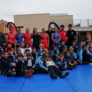 GLADIADOR ARENA, en el colegio ÁRTICA el 27-09-2012