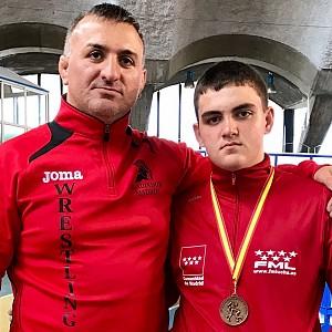 Medalla de Bronce en el  Campeonato de España Escolares 2017