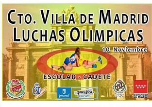 Campeonato Villa de Madrid - Open para escolares y Cadetes